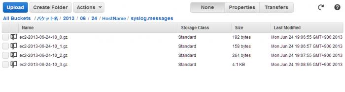 fluentdを使ってS3へログを送る