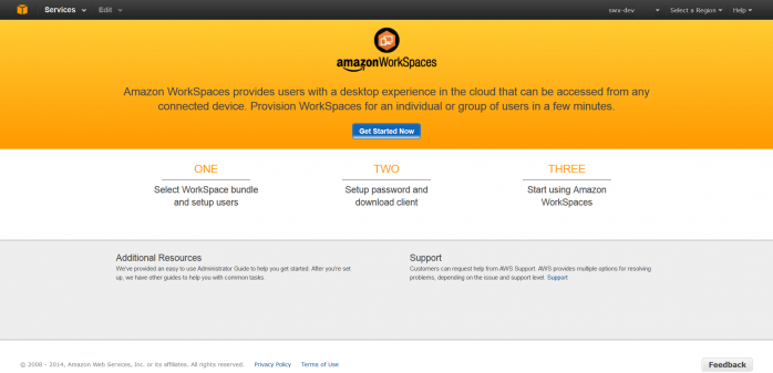 【速報】Amazon WorkSpaces LimitedPreview レビュー