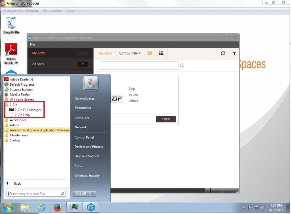 amazon workspaces application manager wam がどんなものか試してみた