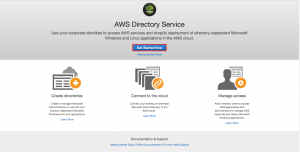 DirectoryService開始画面