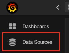 Data sources button